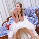 Bride Studio Shot — Stock Photo