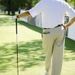 Golf Player — Stock Photo #9454464