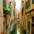 Venice´s interior canal — Stock Photo #9611642