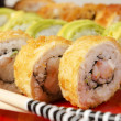 Sushi macro shot — Stock Photo