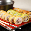 Sushi roll closeup — Stock Photo #9839108