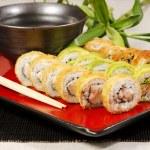 Sushi Rolls — Stock Photo #9839110