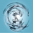 Abstract water — Stock Vector