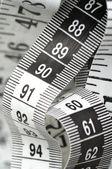 Centimètre avec numéros 90 et 60 — Photo
