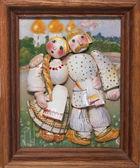 Porcelain couple — Stock Photo