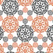 Abstract seamless pattern - Stok Vektör