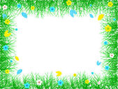 Spring frame — Stock Vector