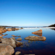 Stock Photo: Lake with floe