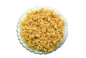 Pilaf in a plate — Stock Photo