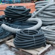Stock Photo: Plastic pipe