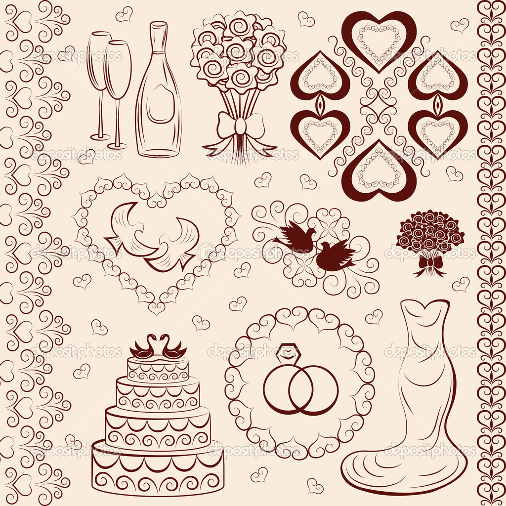 depositphotos_10441861-Vector-clipart-wedding-wedding-decorations.jpg: ru.depositphotos.com/10441861/stock-illustration-vector-clipart...