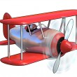 Cartoon airplane — Stock Photo #9631683