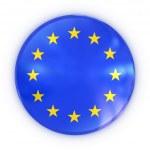 European union badge — Stock Photo