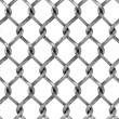 Seamless chainlink fence — Stock Photo #9787436