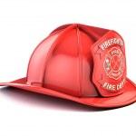 Fireman helmet — Stock Photo