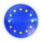 Avrupa birliği rozeti — Stok fotoğraf