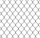 Seamless fence isolated — Stock Photo