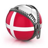 Denmark football nation — Stock Photo