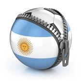 Argentina football nation — Stock Photo
