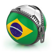 Brazil football nation — Stock Photo