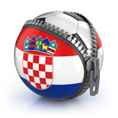Croatia football nation — Stock Photo