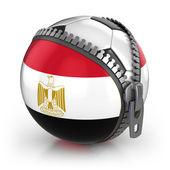 Nación de fútbol de egipto — Foto de Stock