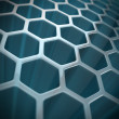 Royalty-Free Stock Photo: Abstract hexagon background