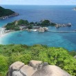 Kho nang yuan from viewpoint — Foto Stock