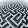 3d labyrinth — Stock Photo #9790969