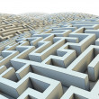 Endless labyrinth — Stock Photo