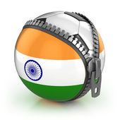 India football nation — Stock Photo
