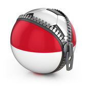 Indonesia football nation — Stock Photo