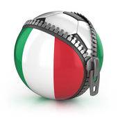 Italy football nation — Stock Photo