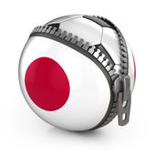 Japan football nation — Stock Photo