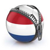 Netherlands football nation — Stock Photo