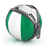 Nigeria football nation — Stock Photo