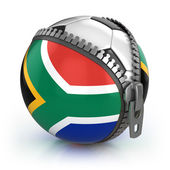South Africa football nation — Stock Photo
