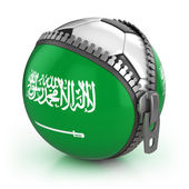 Saudi Arabia football nation — Stock Photo