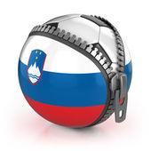 Slovenia football nation — Stock Photo