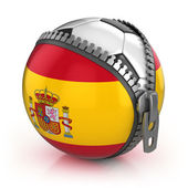 Spain football nation — Stock Photo