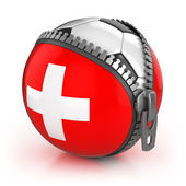 Zwitserland voetbal natie — Stockfoto