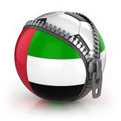 United Arab Emirates football nation — Stock Photo