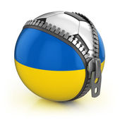 Ukraine football nation — Stock Photo