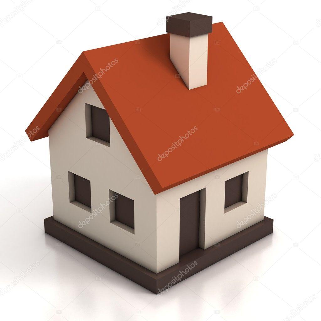 House Icon 3d Illustration Stock Photo 169 Koya979 9790848