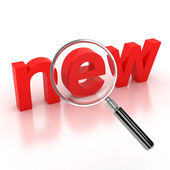 Search new items icon — Stok fotoğraf