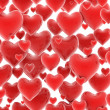Seamless 3d hearts pattern — Stock Photo #9966396