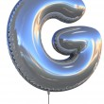 globo letra g — Foto de Stock