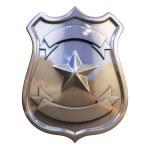 Blank badge — Stock Photo