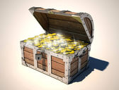 Treasure chest — Stok fotoğraf