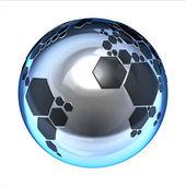 プラネット フットボール — ストック写真
